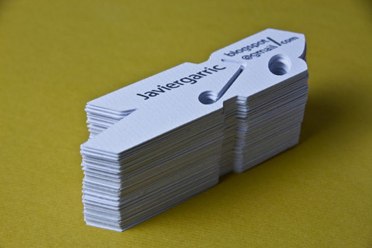 44 More Clean And White Business Cards For Your Inspiration 17