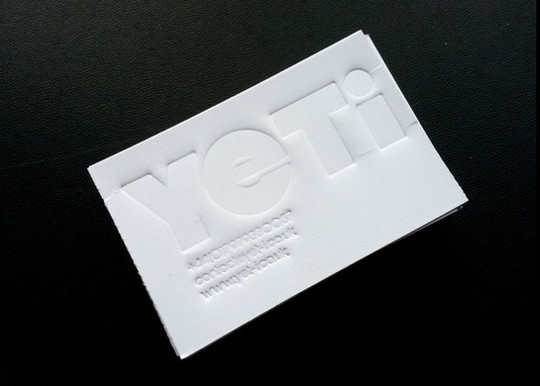 44 More Clean And White Business Cards For Your Inspiration 3