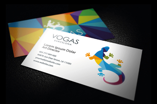 44 More Clean And White Business Cards For Your Inspiration 6