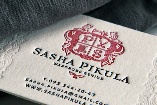 44 More Clean And White Business Cards For Your Inspiration 18