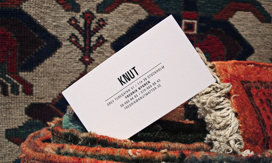44 More Clean And White Business Cards For Your Inspiration 19