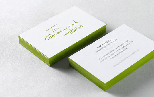 44 More Clean And White Business Cards For Your Inspiration 21