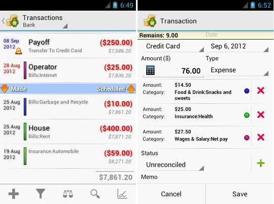 9 Free Android Apps To Manage Your Finances 9