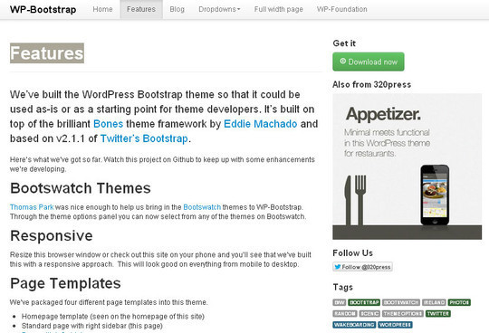 18 Free Responsive Bootstrap Themes And Resources 15