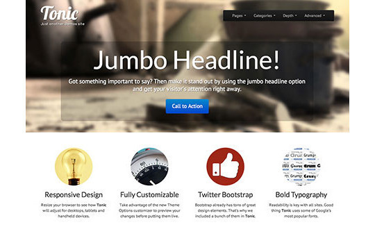 18 Free Responsive Bootstrap Themes And Resources 6