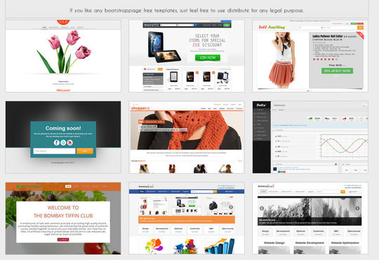 18 Free Responsive Bootstrap Themes And Resources 18