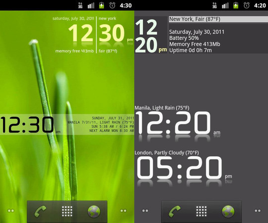 15 Smart Clocks And Calendar Widgets For Android 4