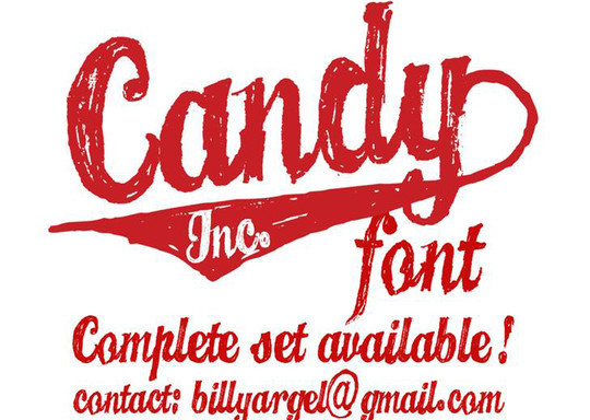 40 Creative And Free Hand Drawn Fonts 12