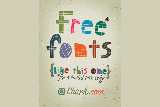 40 Creative And Free Hand Drawn Fonts 16
