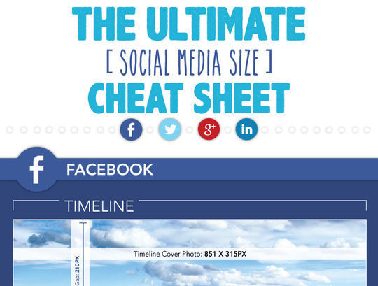 40 Infographics & Cheat Sheets For Social Media Marketers 5