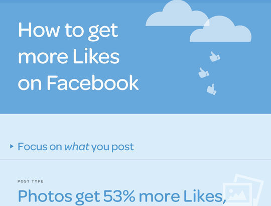 40 Infographics & Cheat Sheets For Social Media Marketers 37