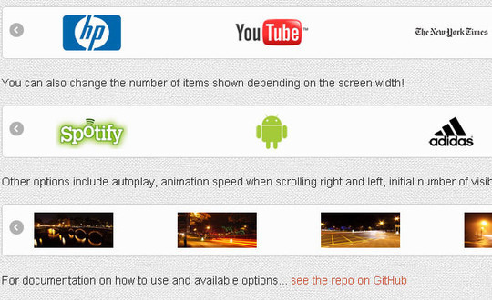 40 Fresh jQuery Plugins To Make Your Website User Friendly 2