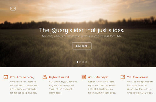 40 Fresh jQuery Plugins To Make Your Website User Friendly 5