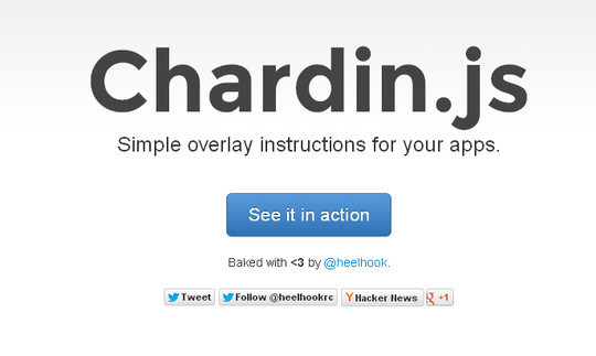 40 Fresh jQuery Plugins To Make Your Website User Friendly 16