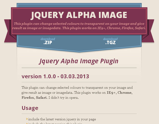 40 Fresh jQuery Plugins To Make Your Website User Friendly 17