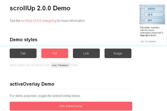 40 Fresh jQuery Plugins To Make Your Website User Friendly 18