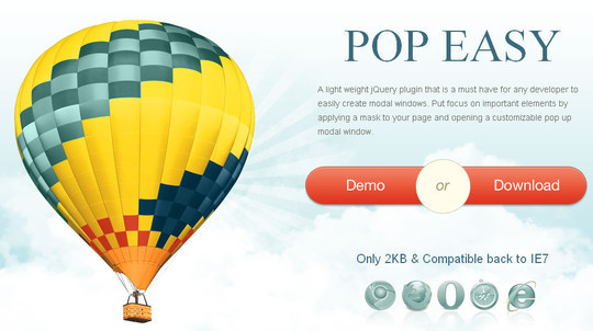 40 Fresh jQuery Plugins To Make Your Website User Friendly 37