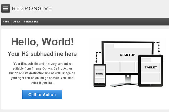 15 Free And Awesome Responsive WordPress Themes 2