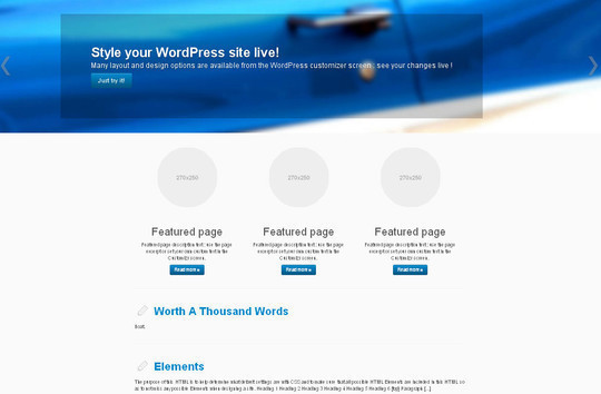 15 Free And Awesome Responsive WordPress Themes 13