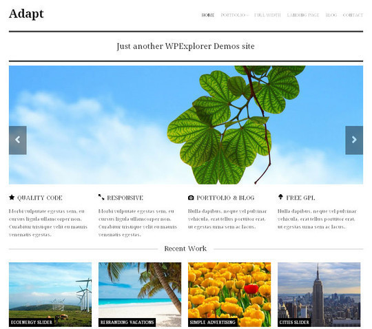 15 Free And Awesome Responsive WordPress Themes 16