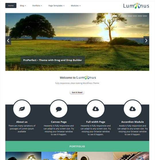 15 Free And Awesome Responsive WordPress Themes 7