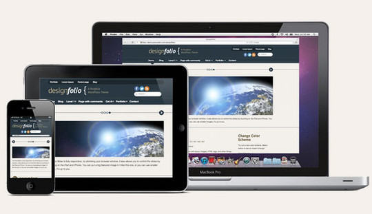 15 Free And Awesome Responsive WordPress Themes 3