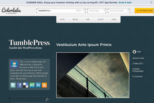 15 Free And Awesome Responsive WordPress Themes 9