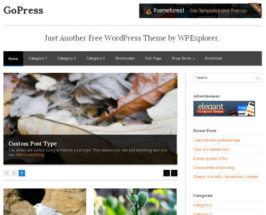 15 Free And Awesome Responsive WordPress Themes 6