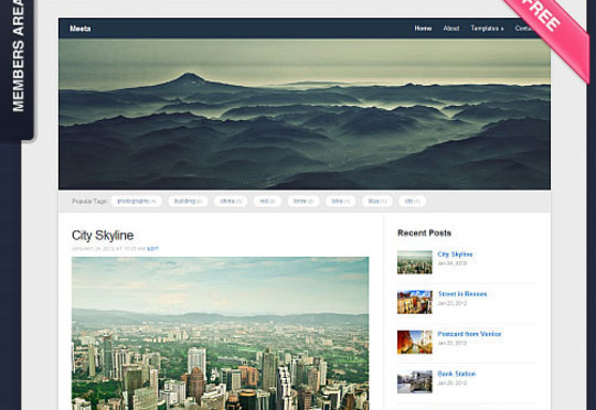 15 Free And Awesome Responsive WordPress Themes 10