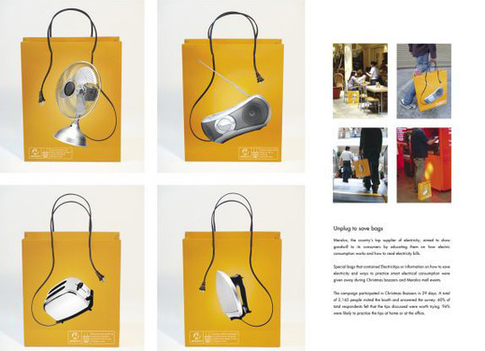 Collection Of Creative Shopping Bag Designs 22