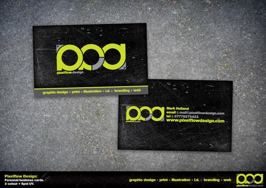 15 Amazing Spot UV Business Cards 6