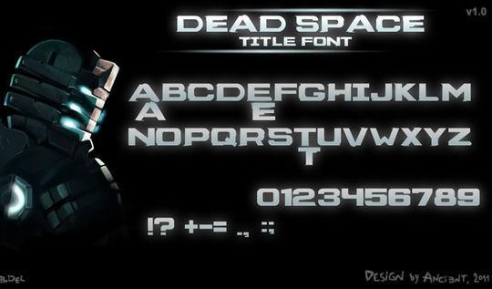 44 Free Sci-Fi & Techno Fonts For Creative Designer 31
