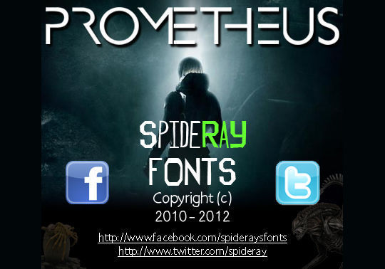 44 Free Sci-Fi & Techno Fonts For Creative Designer 9