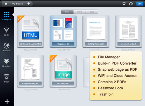 11 Free Tools To Annotate PDF Documents For iPhone And iPad 5
