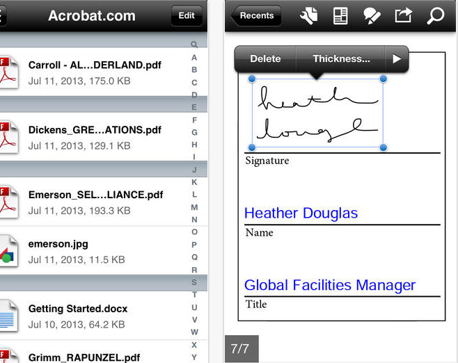 11 Free Tools To Annotate PDF Documents For iPhone And iPad 4