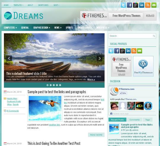 45 Fresh And Free Wordpress Themes 14