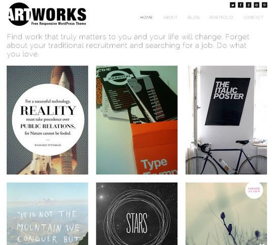 45 Fresh And Free Wordpress Themes 3