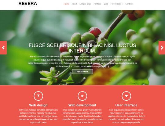 45 Fresh And Free Wordpress Themes 5