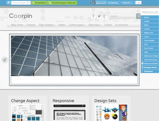 45 Fresh And Free Wordpress Themes 18