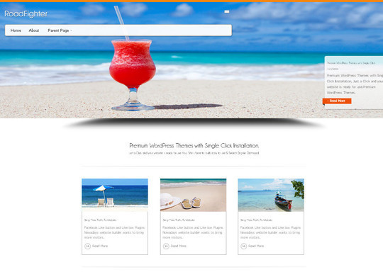 45 Fresh And Free Wordpress Themes 20