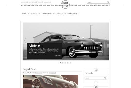 45 Fresh And Free Wordpress Themes 29
