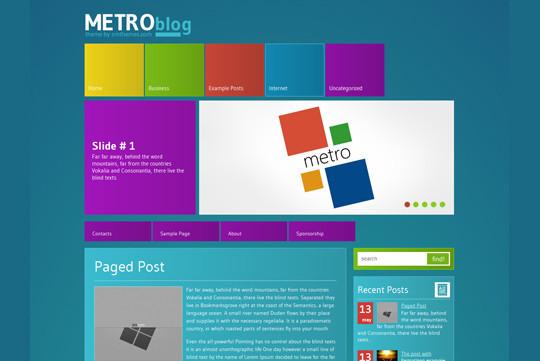45 Fresh And Free Wordpress Themes 26