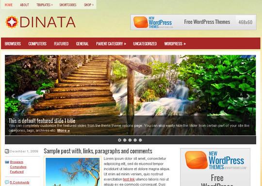 45 Fresh And Free Wordpress Themes 31