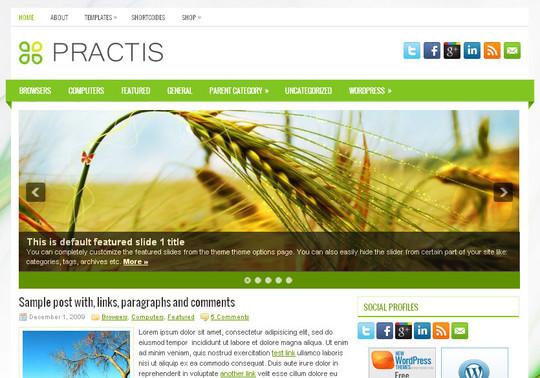 45 Fresh And Free Wordpress Themes 33