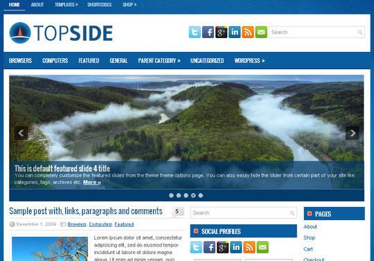 45 Fresh And Free Wordpress Themes 36