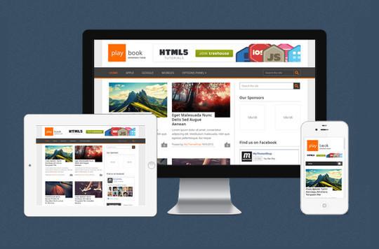 45 Fresh And Free Wordpress Themes 2