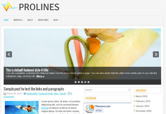 45 Fresh And Free Wordpress Themes 38