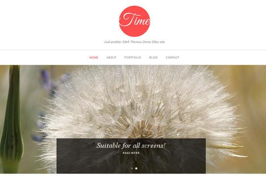 45 Fresh And Free Wordpress Themes 32