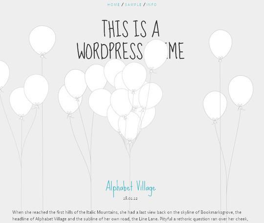 45 Fresh And Free Wordpress Themes 11