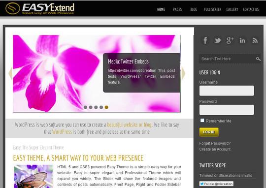45 Fresh And Free Wordpress Themes 44
